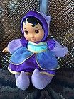 "For Sale - 9"" DISNEY Princess Baby Jasmine Soft Cuddle Plush w/ vinyl face hands doll"