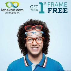 Get your First Frame Free   200 Rs Cash Back    Many More exclusive offers