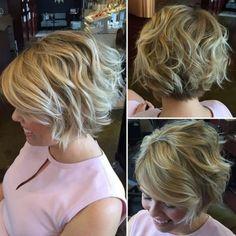 100 short hairstyles for fine hair - Abschlussball - Cheveux Femme Graduated Bob Hairstyles, Choppy Bob Hairstyles, Bob Hairstyles For Fine Hair, Cool Hairstyles, Layered Hairstyles, Japanese Hairstyles, Beach Hairstyles, Hairstyle Men, Formal Hairstyles