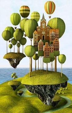 City in the Sky by Teodoru Badiu by jewell