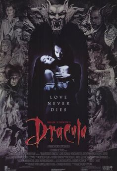 The only vampire I'll ever like: Gary Oldman as Dracula (worth seeing despite Keanu Reeve's wooden performance).