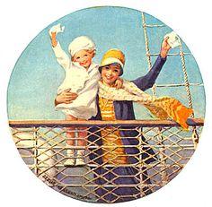 "Jessie Willcox Smith (1863 -1935) American artist and illustrator, ""painter of children"""