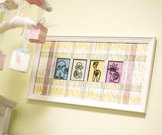 Easy DIY Baby Nursery Wall Art