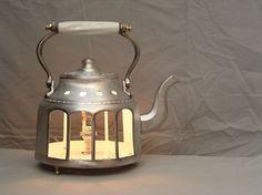 Tea pot light #Light, #Pot, #Tea, #Upcycled