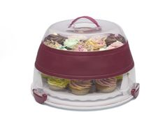 Progressive International BCC-1AZ Collapsible Cupcake and Cake Carrier in Amazon Exclusive Protective Box Progressive International,http://www.amazon.com/dp/B00AZSCTMO/ref=cm_sw_r_pi_dp_B95Osb0GKF2BT2AX