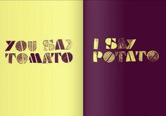 Some type of Potato #typography
