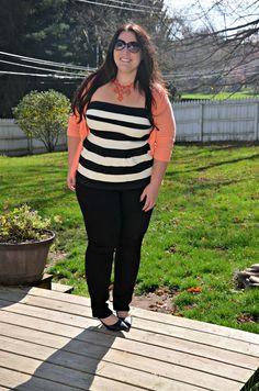 Full Figured & Fashionable: PEPLUM & CARDI  Full Figured & Fashionable Plus size fashion for women Plus Size Fashion Blogger Full Figured & Fashionable Plus Size OOTD Plus Size Fashion