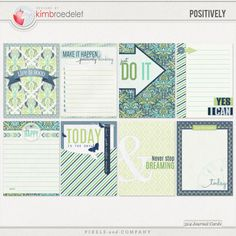 Positively - Journal Cards