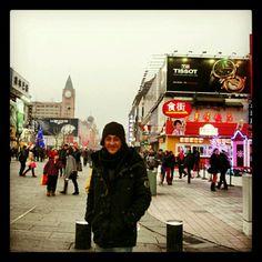 wangfujing street , china beijing