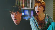 Castle and Alexis yawning. So cute!