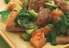 Oyster sauce and rice wine give this speedy stir-fry a rich flavor that balances the clean, sweet crunch of bok choy. Make It a Meal: Rice noodles or brown b...