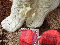 Yaprak Deseni Çorap Yapılışı | yaprak desenli corap yapilisi  336x252 | Falanca Kadın Portalı