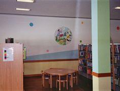 Perspectiva da sala infantil