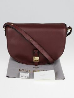 Mulberry Oxblood Soft Small Grain Leather Tessie Satchel Bag. Retail price  is  990. Mulberry 0b4a4f1838
