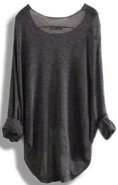 Saggy Oversized Cool Jumper Sweater for Autumn Travels
