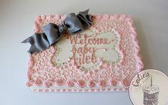 baby shower sheet cake - Google Search