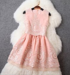 Cheap Fashion Embroidered Fake Two Pieces Dress Vest Skirt For Big Sale!Embroidered Fake Two Pieces Dress Vest Skirt This dress, bring you a refreshing summer fresh temperament. Cheap Evening Dresses, Cheap Prom Dresses, Dresses For Teens, Homecoming Dresses, Lace Dress, Dress Up, Dress Vest, Pretty Dresses, Beautiful Dresses