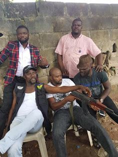 ACKCITY NEWS: See The Police Officers That Arrested Kidnap Kingpin, Evans
