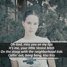 70 Likes, 13 Comments - Lana Del Rey Lana Del Rey Quotes, Lana Del Rey Lyrics, Song Lyrics, Lyric Quotes, Sad Quotes, Brooklyn Baby, Sing To Me, Light Of My Life, She Song