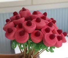 Resultado de imagen de brochetas de gominolas flor