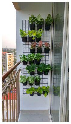 Vertical Garden Design, Backyard Garden Design, Diy Garden, Garden Projects, Vertical Gardens, Garden Plants, Garden Walls, Garden Wall Designs, Diy Projects