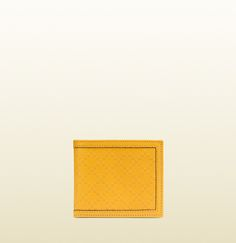 diamante leather bi-fold wallet