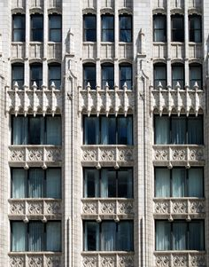 Mather Tower. Gothic window detail. #Chicago #architecture