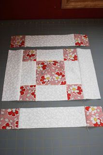 this block would be cute made very large as a one block quilt