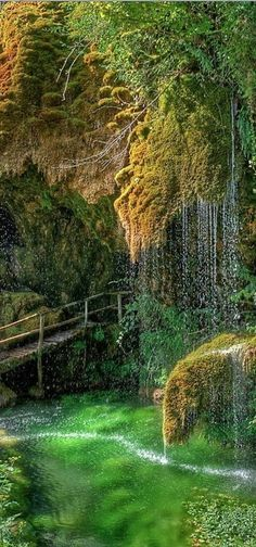 Caves of St. Christopher Labonte in Castel d'Aiano, Bologna, italy