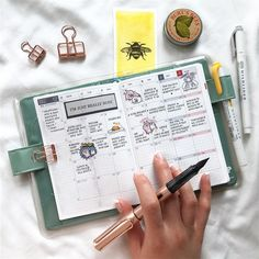 """2,346 Likes, 43 Comments - sarica feng (@saricastudio) on Instagram: """"Writing down one memory from each day in December I'm loving the Hobonichi Techo so far! This is…"""""""
