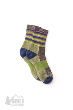 1e28845fa46b Women's Darn Tough Stripes Micro Crew Socks Perfect for 14ers or quick  speed hikes, the