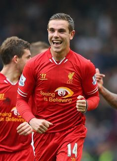 Henderson's been a revelation this season and the engine of the #LFC side.