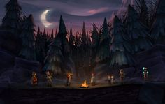 """Picture from the game """"The Cave"""""""