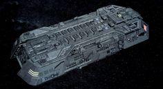 Blue Sky's Holoship CGI model via Memory Alpha