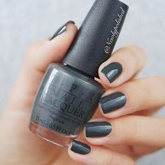 OPI Liv in he Gray / Kerry Washington DC AW 2016 / limited edition shade
