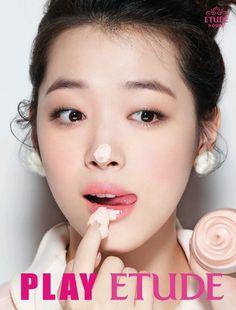 Fx Sulli makeup