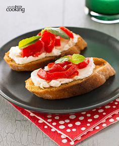 Zesty Garlic Crostini #recipe