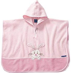 Morgenstern Set Hooded Towel 100 x 100 cm and Flannel in Terry Towelling with Sheep