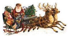 Poème de Clement Clarke Moore La visite du Père Noël