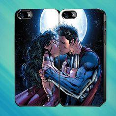 wonder women and superman the superhero  Custom Case by Mendemdupo, $31.99