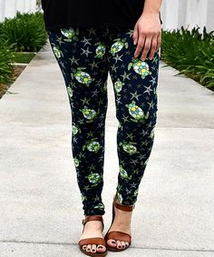 Loving this Black Sea Turtles Leggings - Women & Plus on #zulily! #zulilyfinds