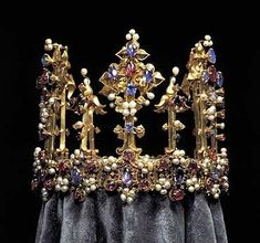 Crown Jewels Romania | ... English crown,1370-80 - think of the history this crown has witnessed