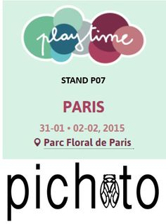 STAND P07 PLAYTIME DU 31/01/2015 - 02/02/2015