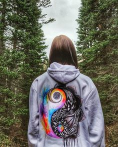 Find Balance Hoodies Now Only $38.95 #ElectroThreads #YingYang
