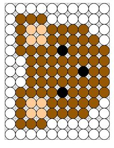 Children's activity and craft templates. Pearler Bead Patterns, Pearler Beads, Pixel Art, Visual Perception Activities, Hama Beads Minecraft, Melting Beads, Cross Stitch Borders, Origami Instructions, Perler Bead Art