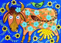 Teaching Plan, Ukrainian Art, Chinese New Year, Folklore, Cattle, Pet Birds, Les Oeuvres, Kids Rugs, Pictures