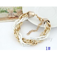 $4.49 Colorful Beads Bracelet Fashion Tribal Bracelet - BornPrettyStore.com