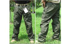 Free shipping Hot Sale Top SaleOutdoor clothing 5.11 tactics pants Green army green waterproof pants army grid pants $62.36