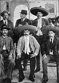 Emiliano Zapata Emiliano Zapata joined the American George Carothers, Amador Salazar, Benjamin and Manuel Palafox Argumedo.
