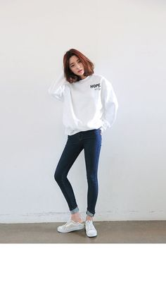 New Fashion Korean Street Style Chic 37 Ideas Korean Fashion Trends, Korea Fashion, Asian Fashion, New Fashion, Trendy Fashion, Fashion Models, Girl Fashion, Fashion Outfits, Fashion Clothes